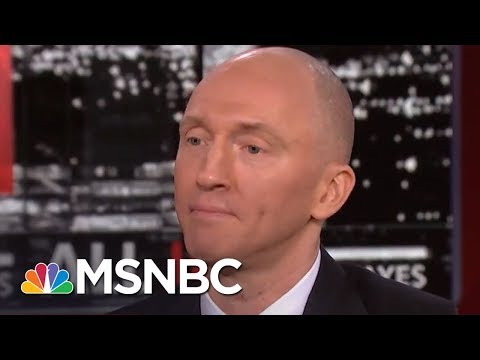 Carter Page Reacts To Indictments, George Papadopoulos Plea | All In | MSNBC