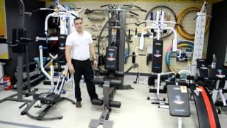 EXTRA ST-034 - Профессиональная мультистанция Интер Атлетика (видео обзор)