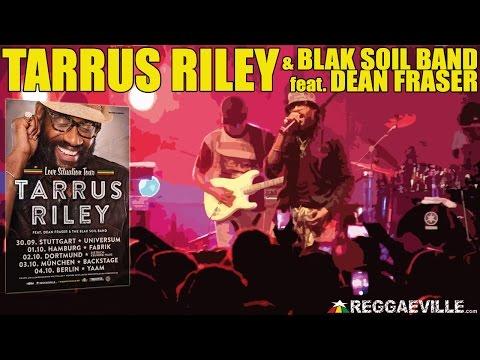 Tarrus Riley & Blak Soil Band - Superman in Dortmund, Germany [October 2nd 2014]