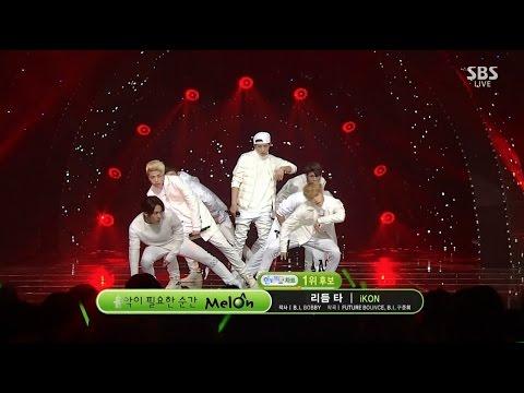 iKON - '리듬 타(RHYTHM TA)' 1018 SBS Inkigayo