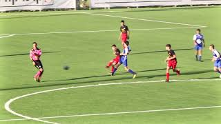 עידן פרץ - שחקן מ.ס. אשדוד נגד מכבי פתח תקוה ילדים א גביע עונת 18-19 - מספר 19