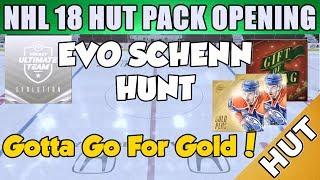 HUNT FOR EVO SCHENN!! - NHL 18 HUT - Hockey Ultimate Team - EVO Pack Pull