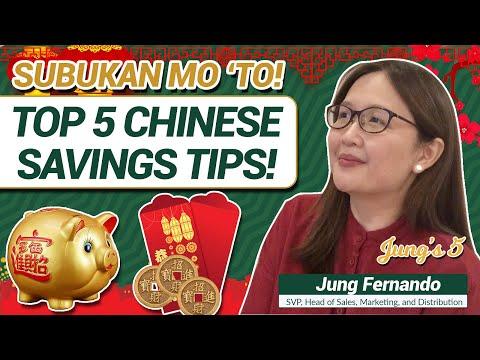 SUBUKAN MO 'TO! TOP 5 CHINESE SAVINGS TIPS! - Jung Fernando