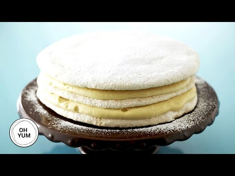 Hazelnut Dacquoise Torte | Oh Yum with Anna Olson