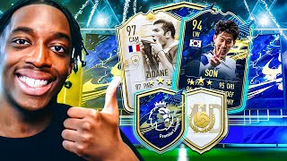 WE DID THE GUARANTEED PREM TOTS PACK AND ICON PACKS!