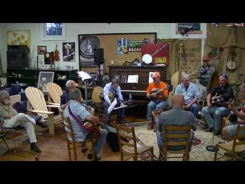 Breazeale's Bluegrass,Jimmy Gilstrap plays piano.. 9-3-2016
