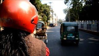 On the road with Bangladesh's female rickshaw wallah