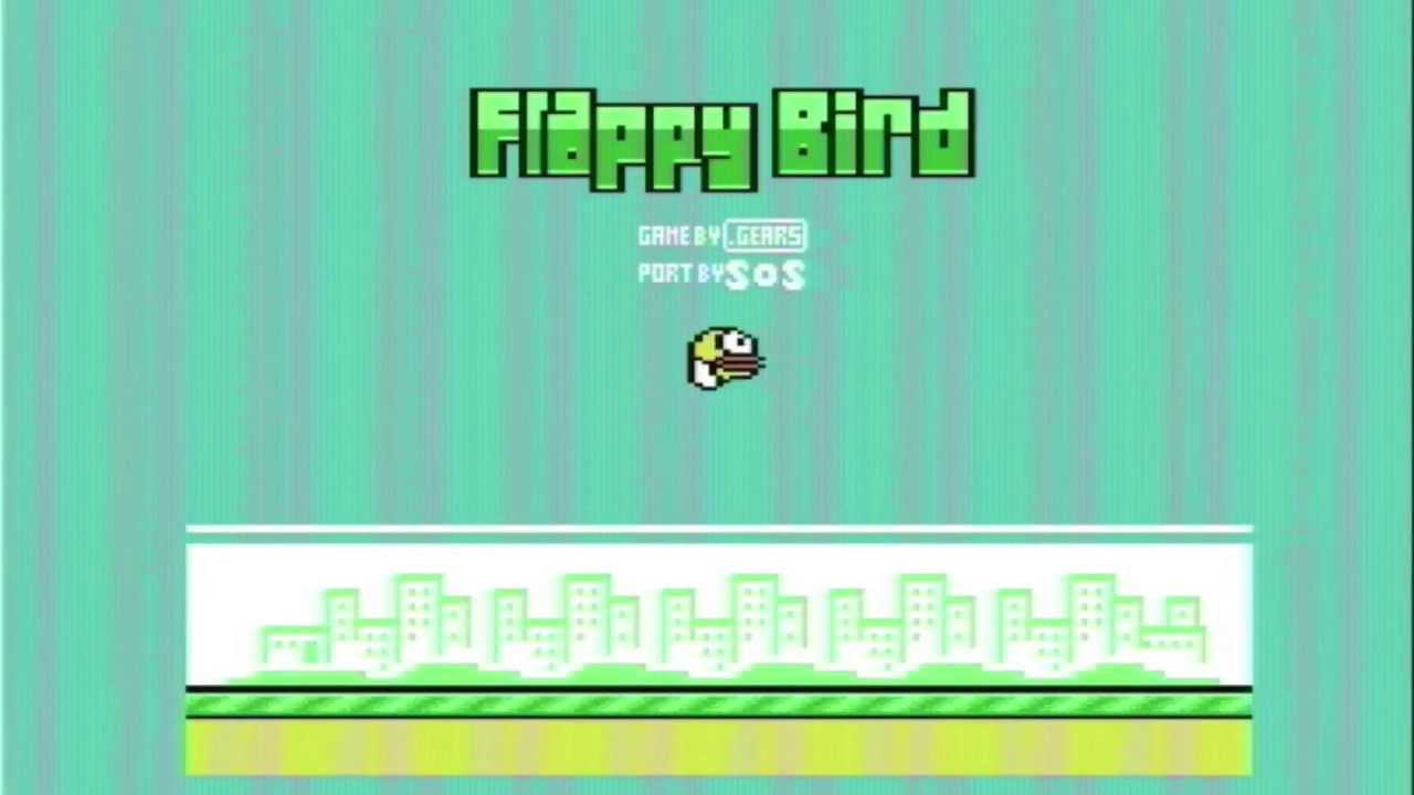 Flappy Bird for Commodore 64
