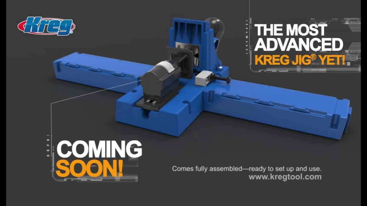 Kreg Jig® K5 New Features at a Glance