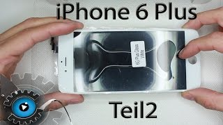 iPhone 6 Plus Glas Wechseln Tauschen Reparieren LOCA UV [Deutsch] Glass repair Part 2