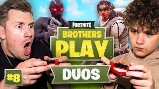 ARE WE GETTING BETTER YET!? | BROTHERS PLAY FORTNITE #8