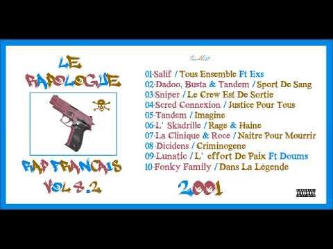 Rap Céfran Vol.8 - 2001 (MIXTAPE)