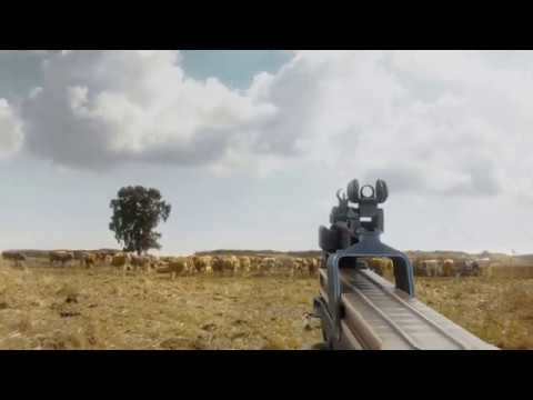 FN P90 Animations: Reload, Deploy, Fire. 60 Fps