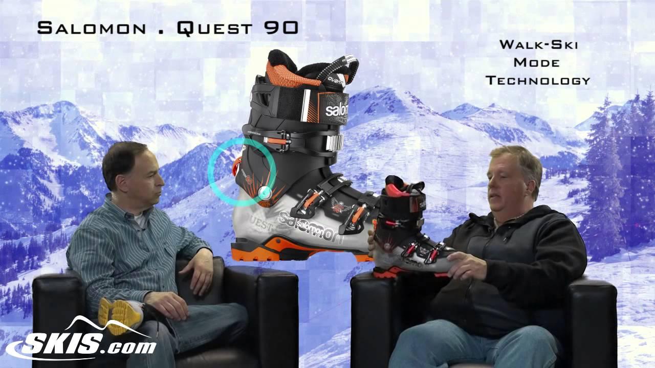 2014 Salomon Quest 90 Mens Boot Overview by SkisDOTcom