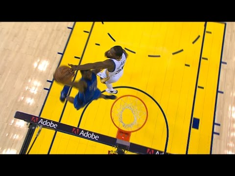 Harrison Barnes Blocked By Kevin Durant, Still Goes In | 12.30.16