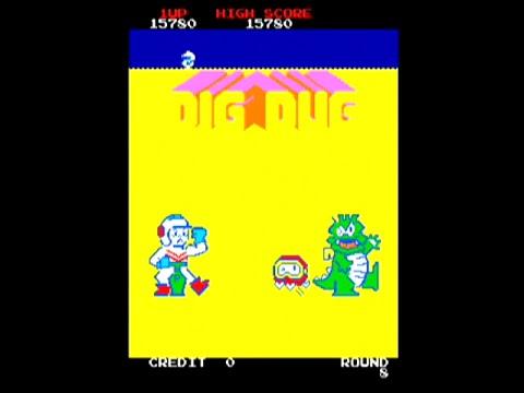Dig Dug - Arcade - Namco 1982