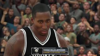 NBA2K17 All Star Game gara schiacciate