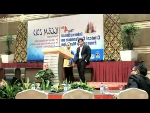 """""""My Last March""""  at ICCEM 2015"""