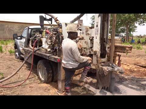 Lifetime Wells International drilling a well in Ghana