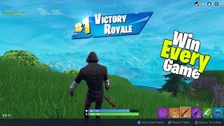 How To Win Every Game Of Fortnite Using This Glitch!