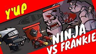 ULTIMATE NINJA VS FRANKENSTEIN #zombiesurvival #gameplay ZOMBIE AGE 3 by Youngandrunnnerup part 1123