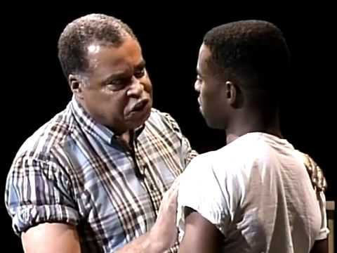 Fences - Analyzing Staging in Act 1, Scene 3 -