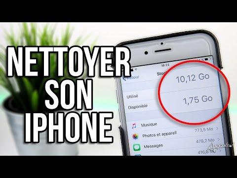 Nettoyer son iPhone pour récupérer de l'espace de stockage ! (Sans Jailbreak)