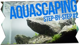 IWAGUMI AQUASCAPING STEP-BY-STEP #2   GarnelenTv