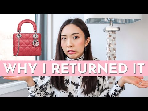 Why I Returned The Mini Lady Dior | Quality Issues? Damaged? Defective? | CAROL CHAN