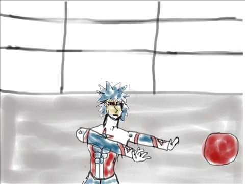 Alex vs Blaze comic