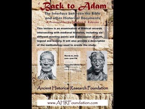 Genealogy Back to Adam