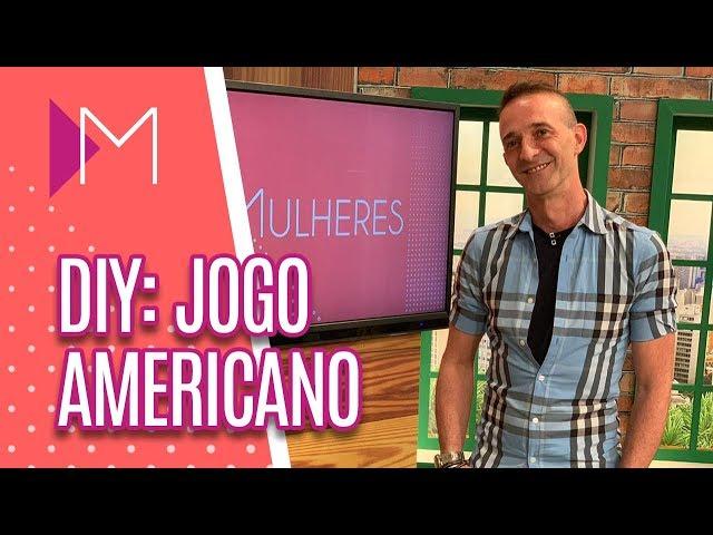 DIY: Jogo americano de juta para a Páscoa - Mulheres (26/03/2019)
