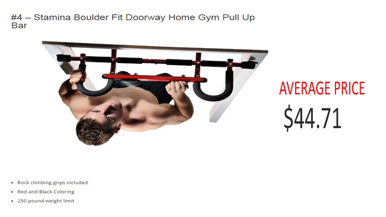 Best Pull Up Bars For Home U2013 Top 10 Doorway Pull Up Bars