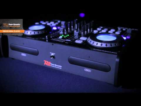 POWER DYNAMICS PDX125 Dual Player CD/SD/USB/MP3 art nr: 172.716