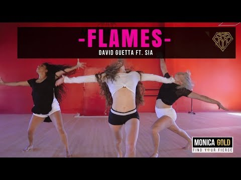 FLAMES- David Guetta ft. Sia II #FINDYOURFIERCE by MONICA GOLD