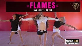 Baixar FLAMES- David Guetta ft. Sia II #FINDYOURFIERCE by MONICA GOLD