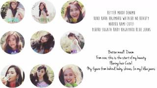 Girls' Generation (少女時代) - Blue Jeans Lyrics [Color Coded/ENG/ROM]