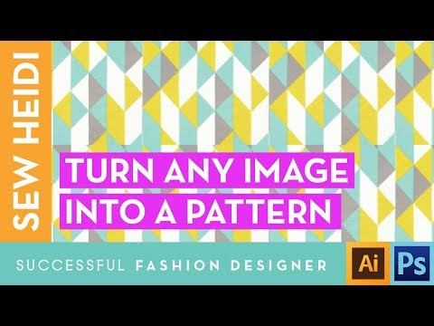 How to Make a Pattern Swatch in Illustrator from an Image