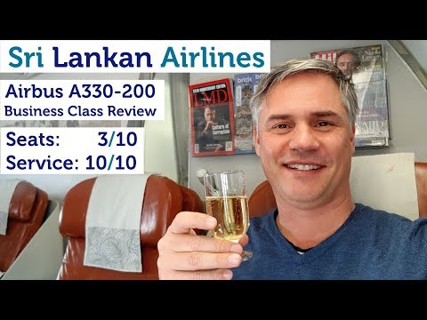 Sri Lankan Airlines Business Class - A330-200