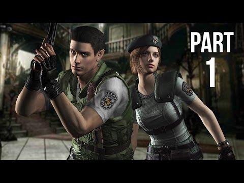 Resident Evil HD Remaster (PS4) - Gameplay Walkthrough Part 1 (Resident Evil Remastered)