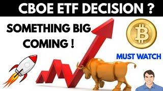 When crypto will boom ! ETF decision
