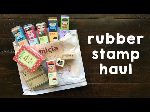 Rubber Stamp Haul