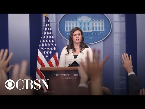 White House Press Briefing with Sarah Sanders, live stream |