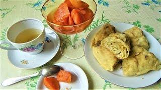 Ханум с картошкой и луком в духовке. Рецепт по Узбекски, Казахский, Уйгурский, Азербайджанский