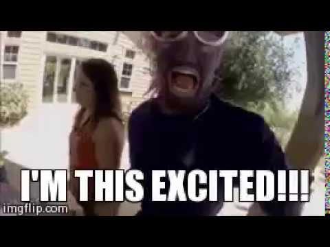 Excited Purple Minion GIF