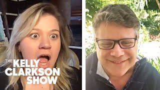 'Goonies' Superfan Kelly Clarkson Screams As Sean Astin Crashes Interview With Josh Gad