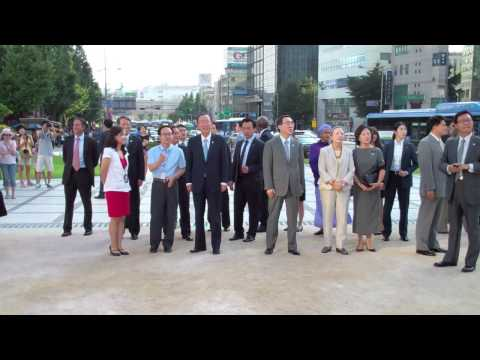 WORLDMAGNUM: UN S-G BAN KI-MOON in REPUBLIC of KOREA