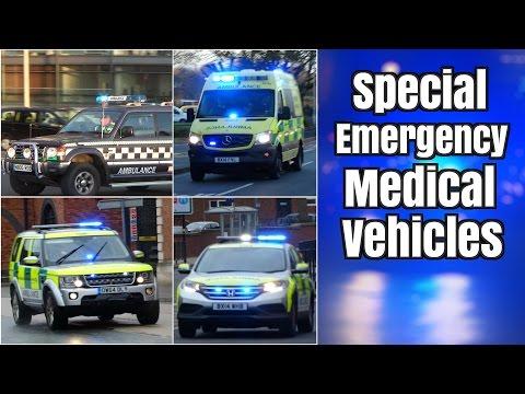 Medical vehicles & Ambulances responding - Special Capabilities -
