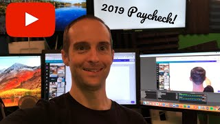 MY 2019 YOUTUBE PAYCHECK! How Much I Made on 1.3 Million Views + Secrets to Earn More Ad Revenue!