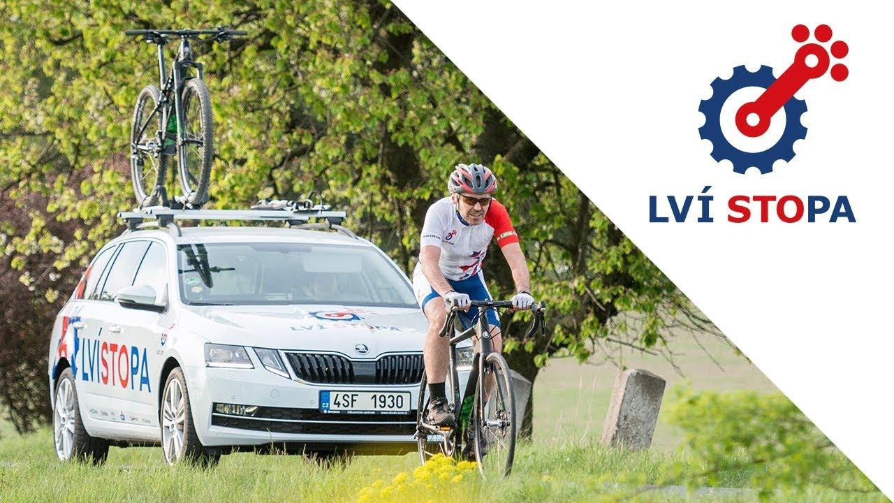 Video Největší cyklistická trasa ve tvaru českého dvouocasého lva